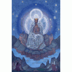 Mother of the World, Nicholas Roerich, 1924